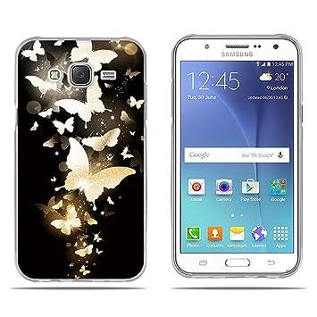 FUBAODA, Fundas Samsung Galaxy J5 (J500F) 2015 Carcasas ...