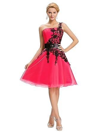 4cd6ba76168 Yafex - Robe - Cocktail - Sans Manche - Femme - Rose - 48  Amazon.fr   Vêtements et accessoires