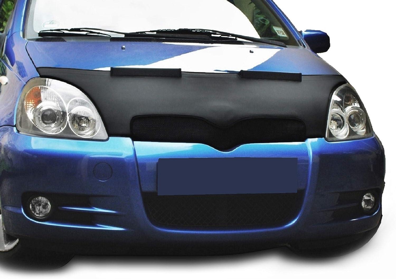 Bonnet bra Yaris Stoneguard Protector Hood Bra Car Bonnet Front End Mask Cover Tuning NEW