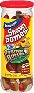 Snawsomes! Beef Flavor Dog Snacks, 9.75 Ounce Canister