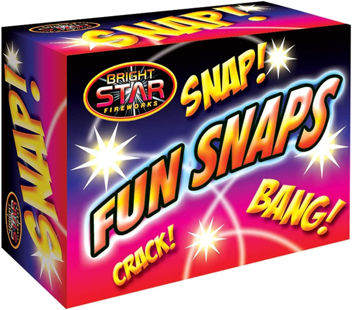 Fun Snaps Throw Bangers 25 boxes Brand New