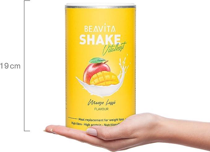 Batidos para adelgazar sabor Mango Lassi 572 g – Sustitutivo de comida proteico – Batido saciante de apetito – Para perder peso y mantener músculo - ...