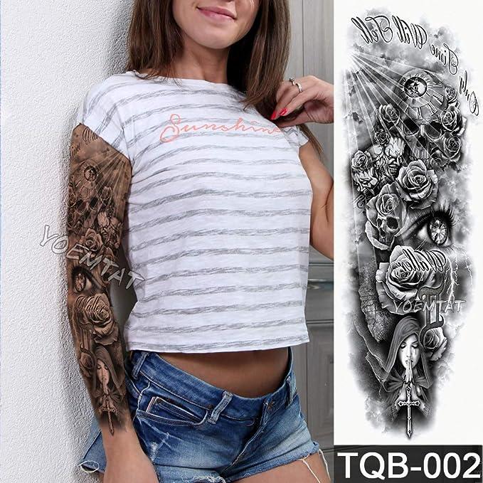 tzxdbh 5 Unids-Grande Manga del Brazo Tatuaje Maori Poder Totem ...