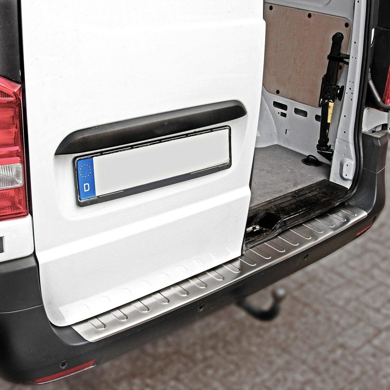 V KLASSE ab 2014-130CM Large Recambo CT-LKS-1600 LADEKANTENSCHUTZ Edelstahl MATT f/ür Mercedes VITO W447