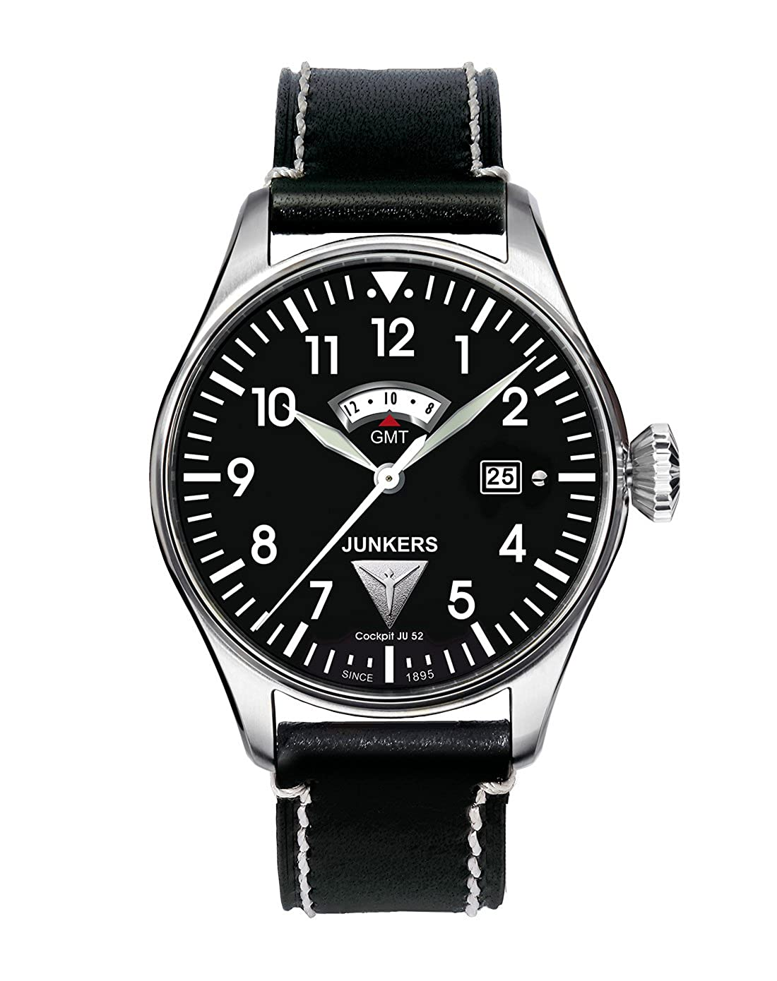 Amazon.com: JUNKERS - Mens Watches - Junkers Cockpit JU52 - Ref. 6140-2: Watches
