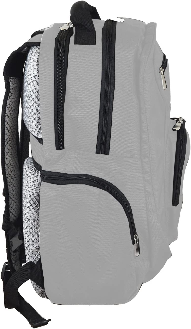 Denco NHL Voyager Laptop Backpack, 19-inches, Grey