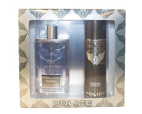 19e84706cc229 Agua de colonia original de Police, 100 ml y desodorante en aerosol 200 ml