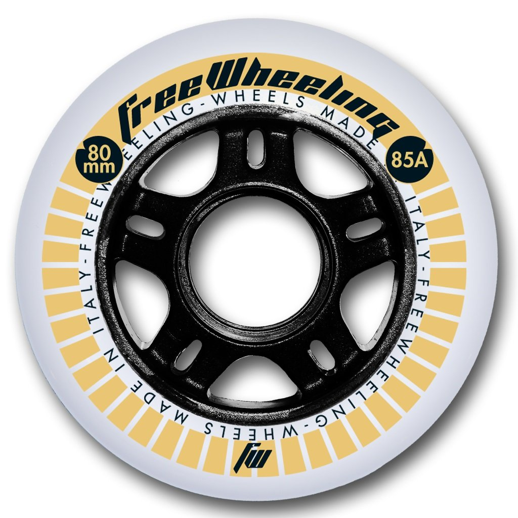 4 Stück Inliner Skate Rollen Race 80mm 1117383 FreeWheeling