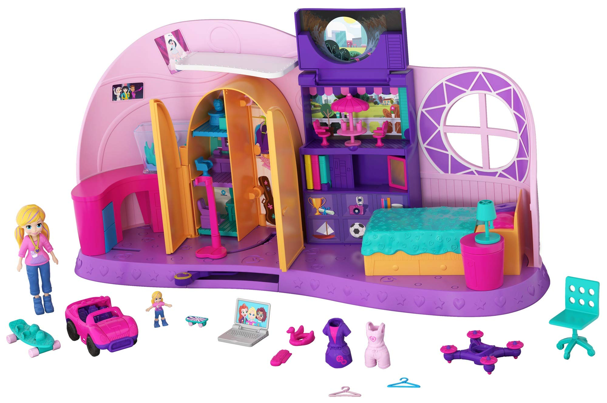 Polly Pocket Transformation Playset by Mattel (Image #14)