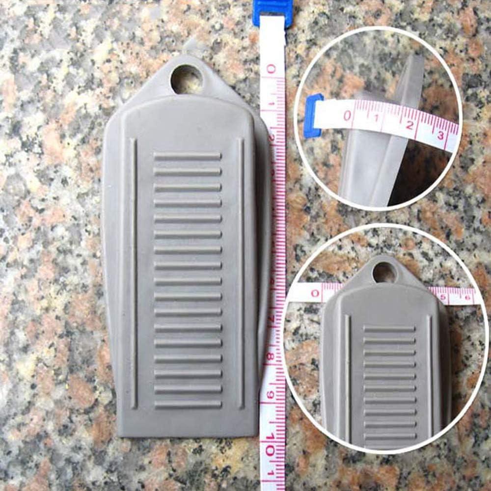 Potelin Heavy Duty Rubber Door Wedge Door Stopper Door Stop Wedge For Home Kindergarten School 1Pcs Gray Superior/â/€/'Quality and Creative