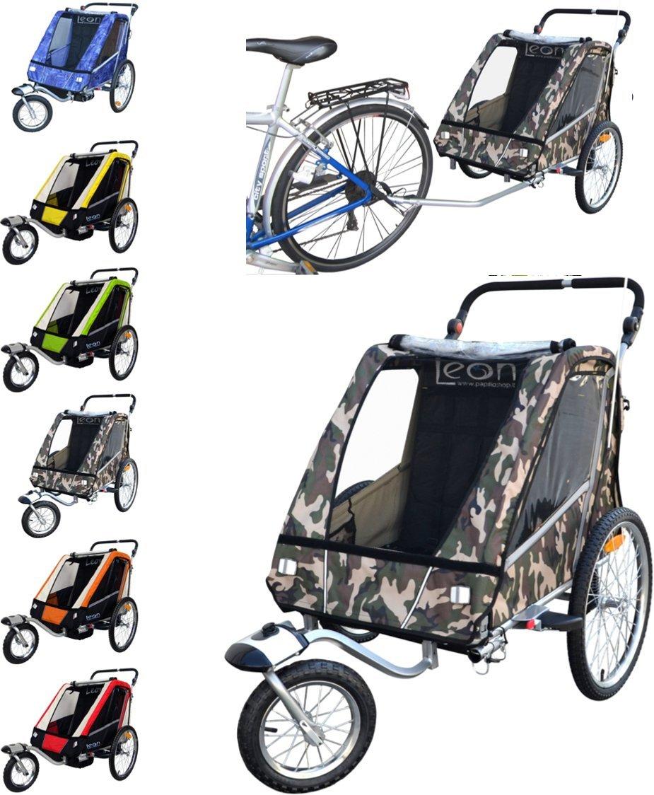 PAPILIOSHOP LEON Remolque carrito para el transporte con kit de footing 6520