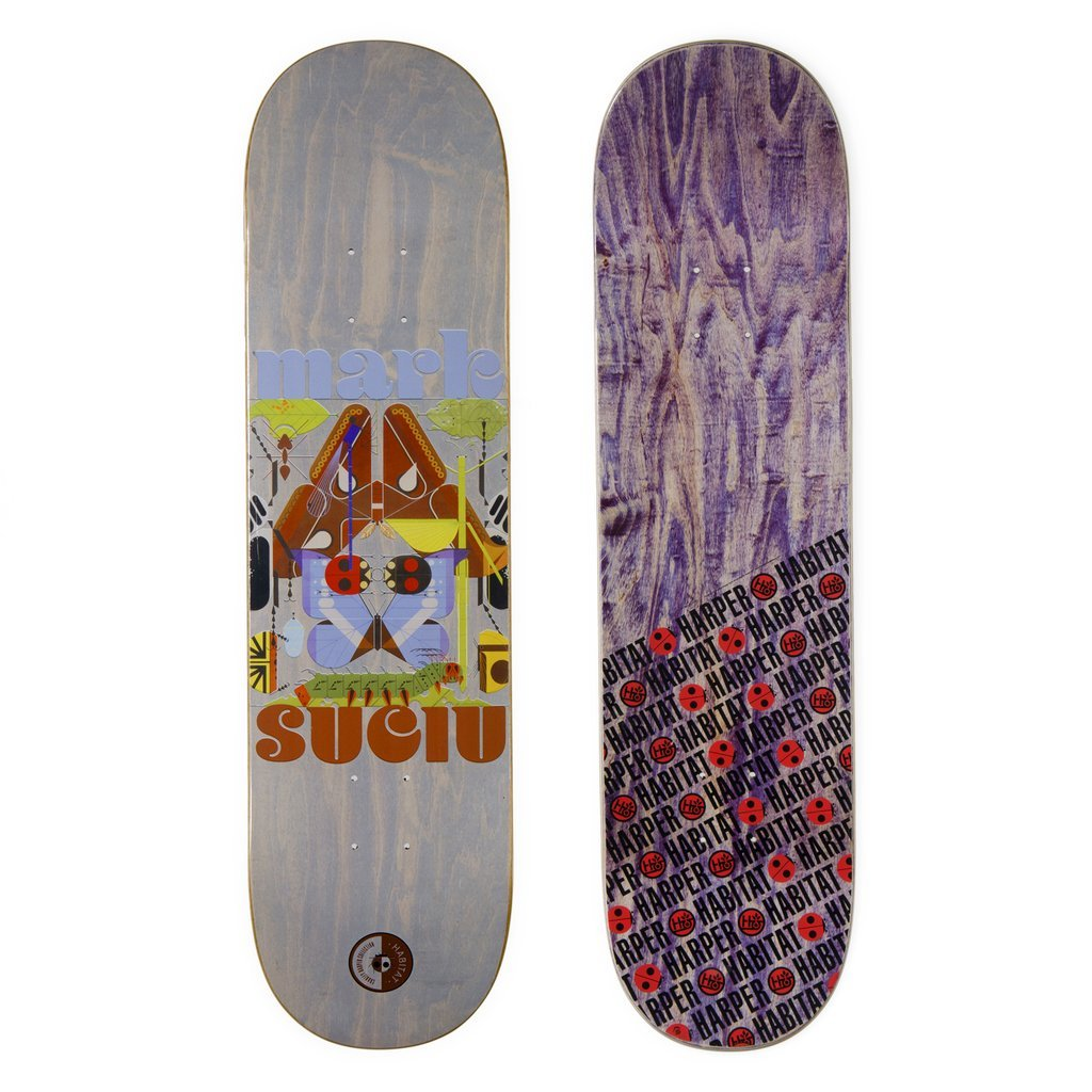 Habitat Skateboards Harper Insect Diversity - Mark Suciu - Assorted, 8.25 The Sovereign Sect BRD-0244