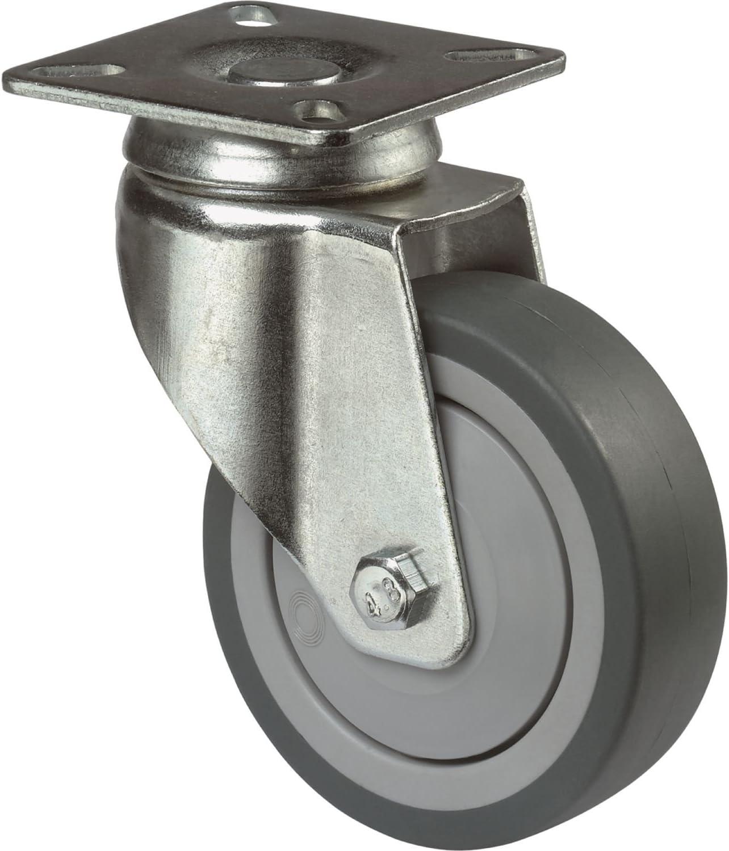 ohne Feststellung /ø 100 mm mit AnschraubpLochabstandtte BS ROLLEN A100.A85.100 Lenkrolle Kugellager
