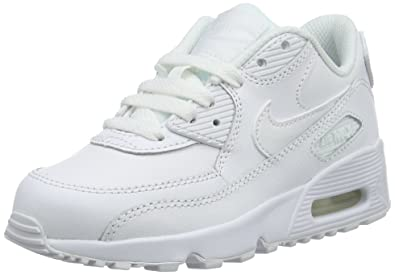 Nike Jungen Boys Air Max 90 Leather (Ps) Traillaufschuhe