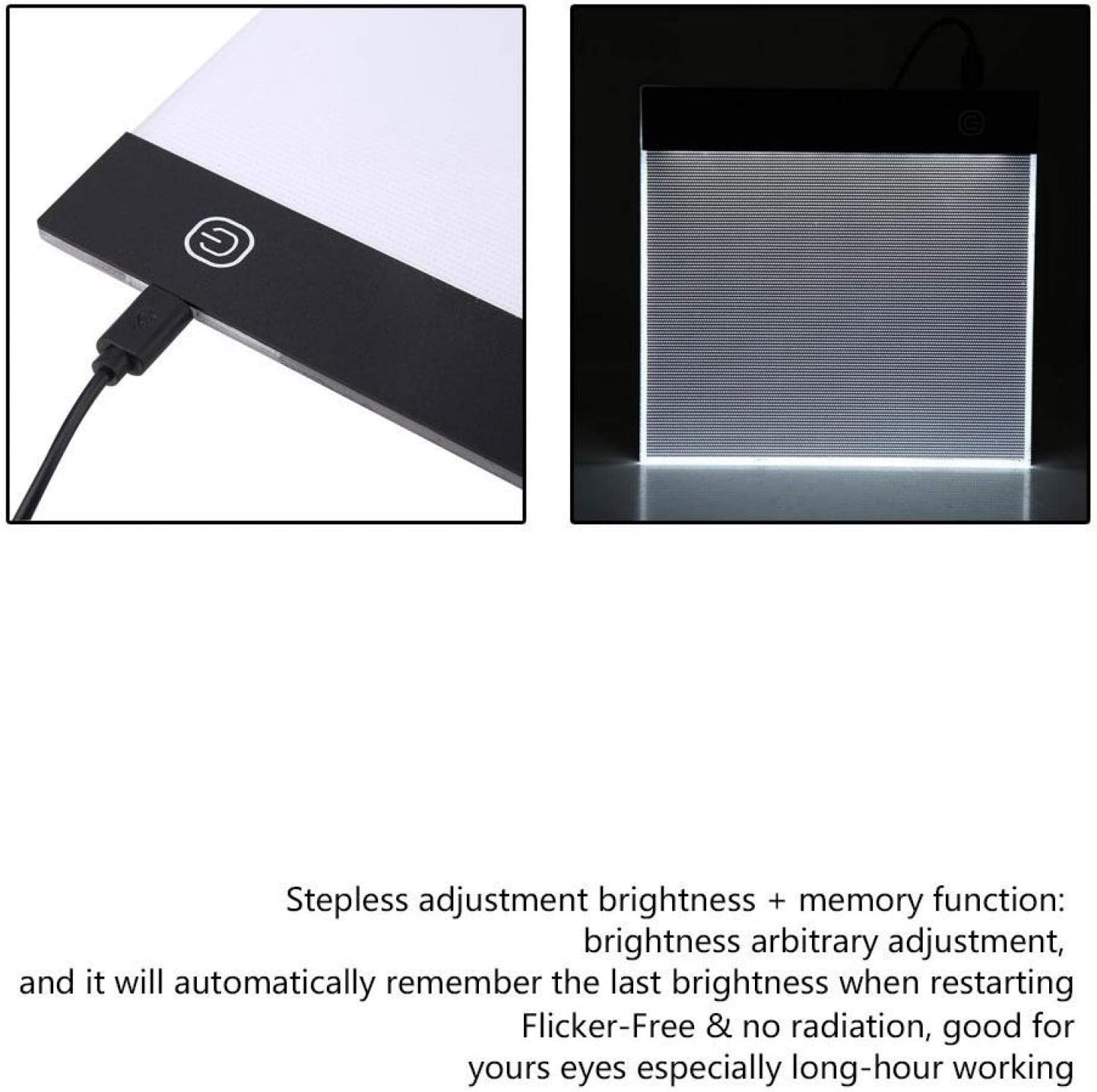 Diamond Painting Light Pad with USB Drawing Board Led Light Box Sketching for Drawing