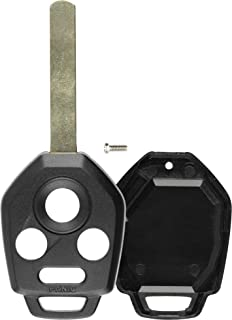 5 Remote Key Shell Case Housing Fob 4 Button for Subaru 2012-2017 Keyway B110