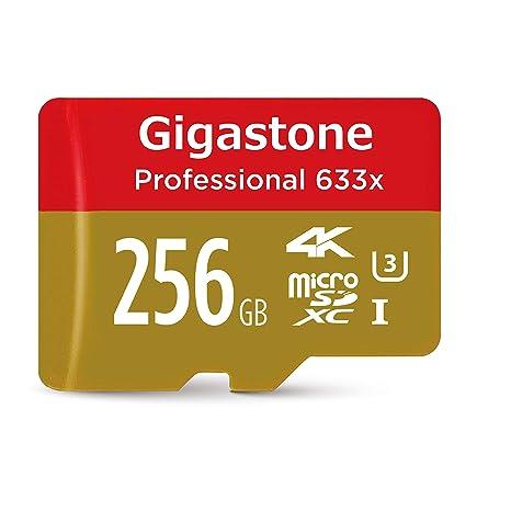 Amazon Com Gigastone 256gb Microsd Card Uhs I U3 Class 10 Sdxc