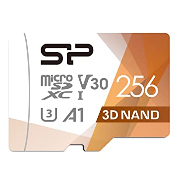 Silicon Power - Tarjeta de Memoria MicroSDXC UHS-3 (256 GB, FBE-SU256GBSTXDU3V20EU)