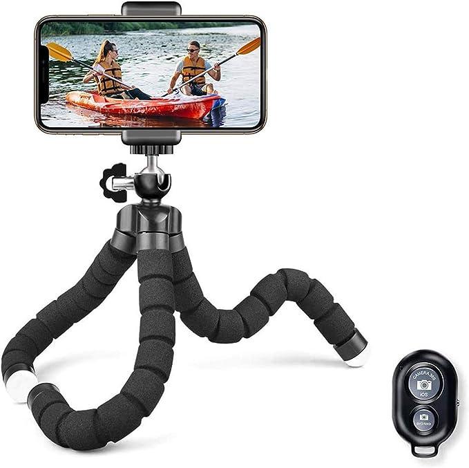Selfie Stick Stativ ULANZI MT-34 Handy Stativ Extendable 2 in 1 mit Handyhalterung Mini Kamera Dreibein Stativ St/änder 360/°Rotation f/ür iPhone Samsung Huawei Smartphone und DLSR Kamera