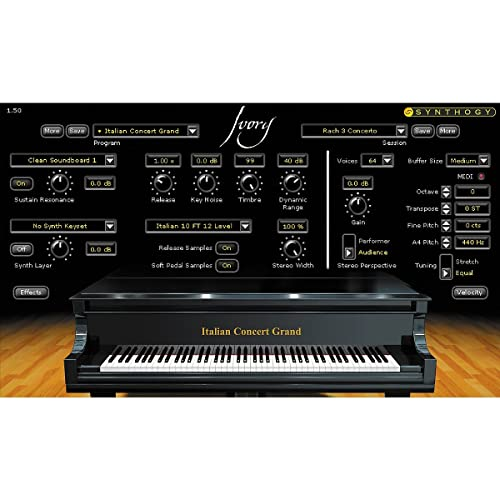 Synthogy Ivory II Italian Grand Virtual Instrument