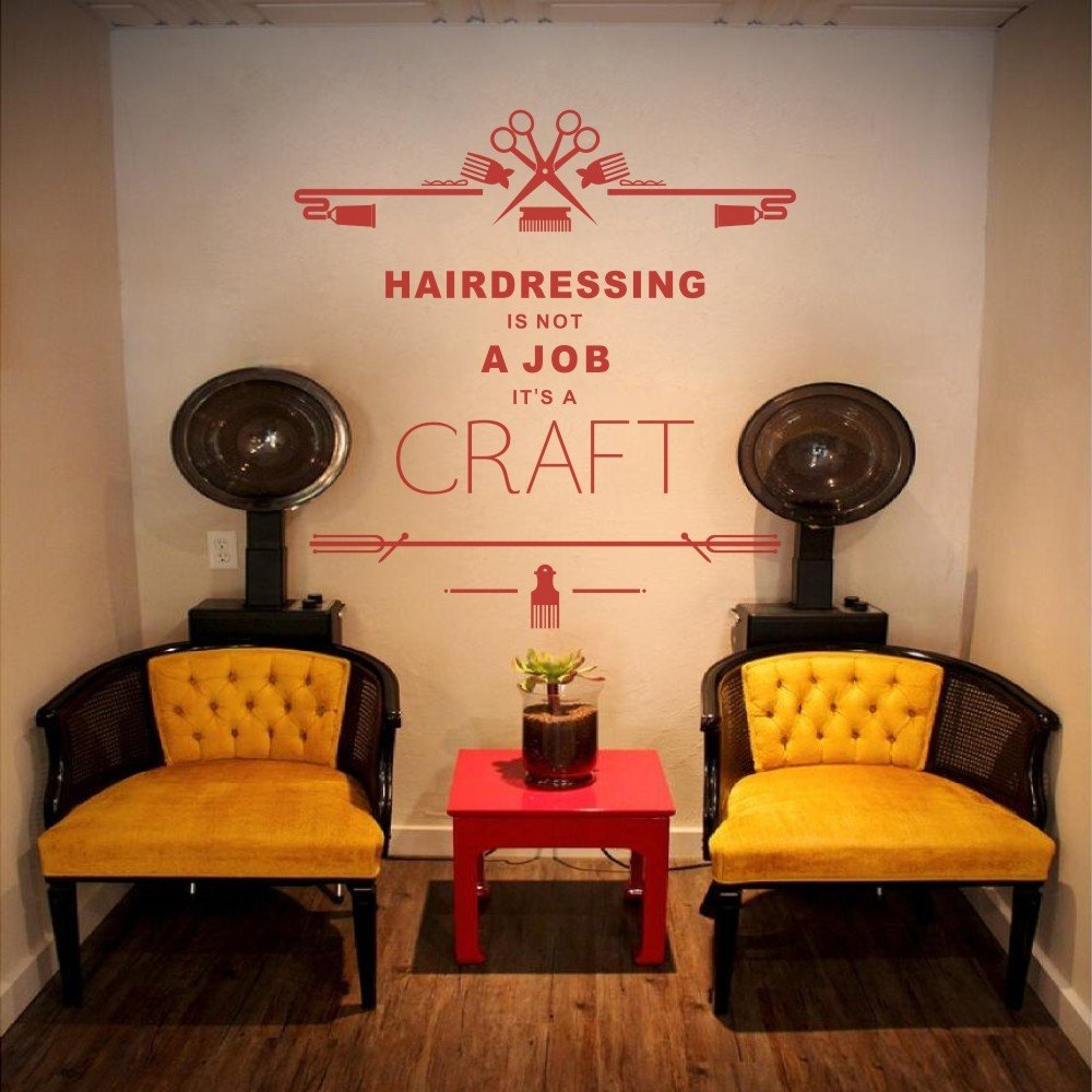 amazon com inspirational quote hairdressing is not a job it s a rh amazon com