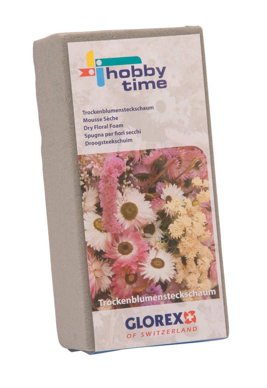 Glorex 6 3804 720 Steckschaum, für Trockenblumen, ca. 23 x 11 x 7,5 cm für Trockenblumen GLOREX GmbH