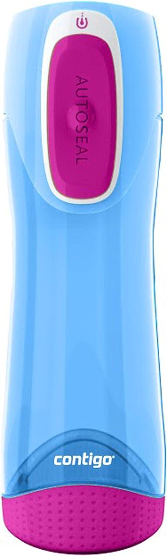 Contigo Swish - Botella de Agua con Dispositivo antigoteo y antiderrames