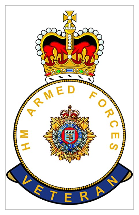 Brigade UK HM Armed Forces RLC Royal Logistics Corps Veteran Sticker
