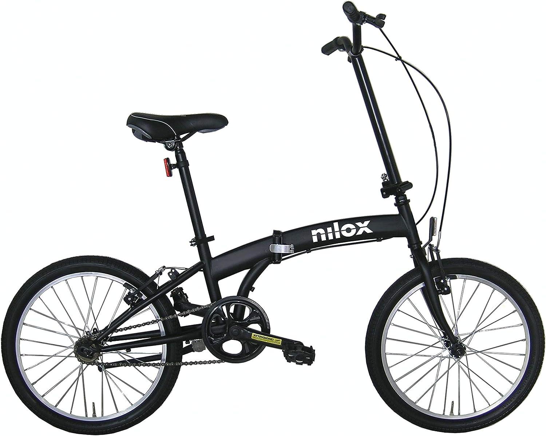 Nilox Micro Bike 20P-X0 Bicicleta (Plegado, Completo, Acero, 50,8 cm (20