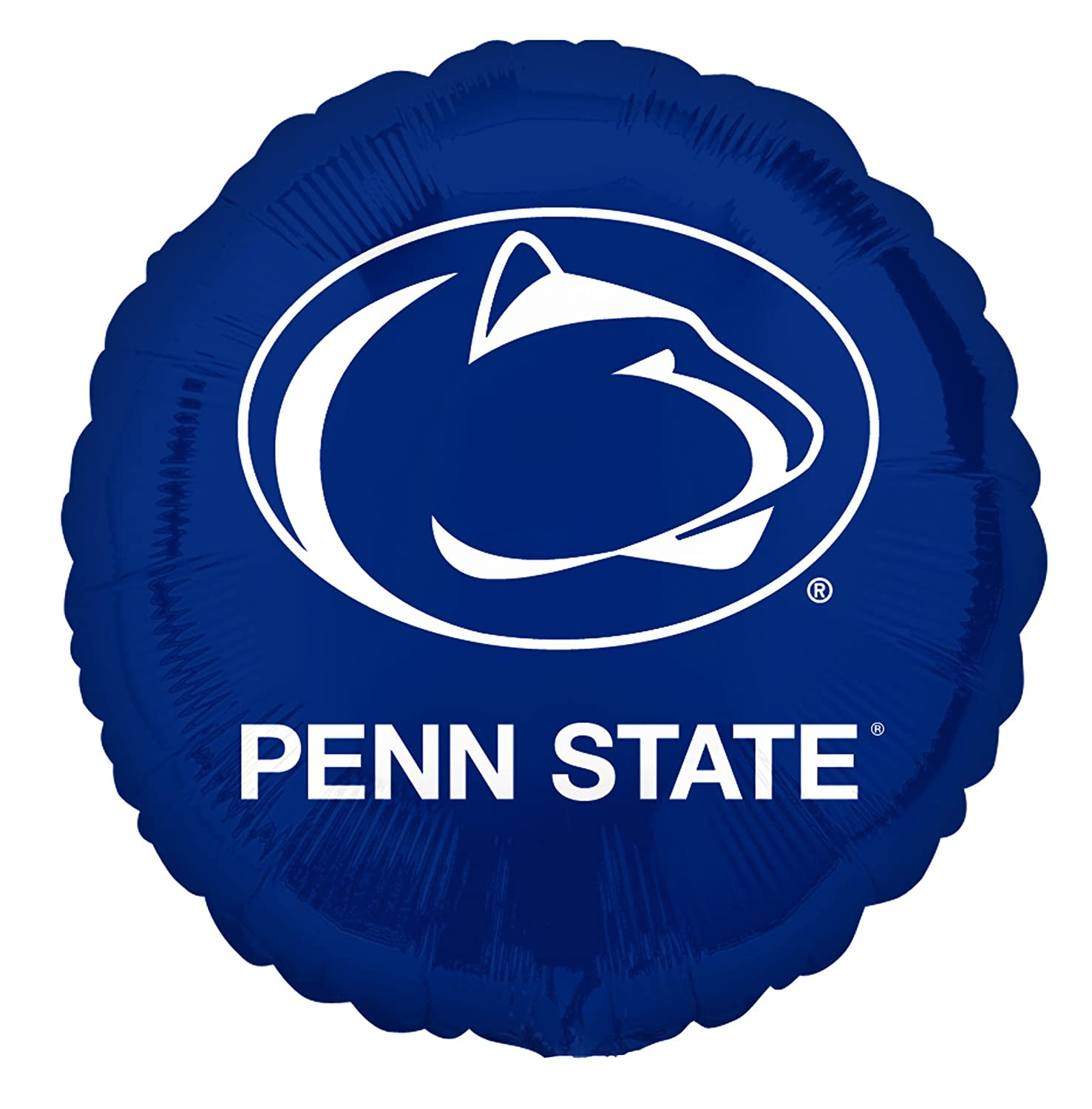 18 Multicolor 18 2426602.0 Anagram International Penn State Foil Flat Balloon