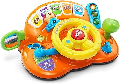 Amazon.com: Driver de giro, VTech y aprender, naranja: Toys ...