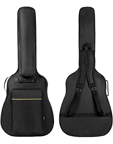 83202fbe5e CAHAYA [Upgraded Version] 41 Inch Acoustic Guitar Bag 0.3 Inch Thick  Padding Waterproof Guitar