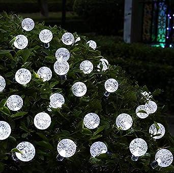 Solar Weihnachtsbeleuchtung.Kitlit 30er Led Party Lichterkette Solar Weihnachtsbeleuchtung Garten Globe Aussenbeleuchtung Stimmungsbeleuchtung