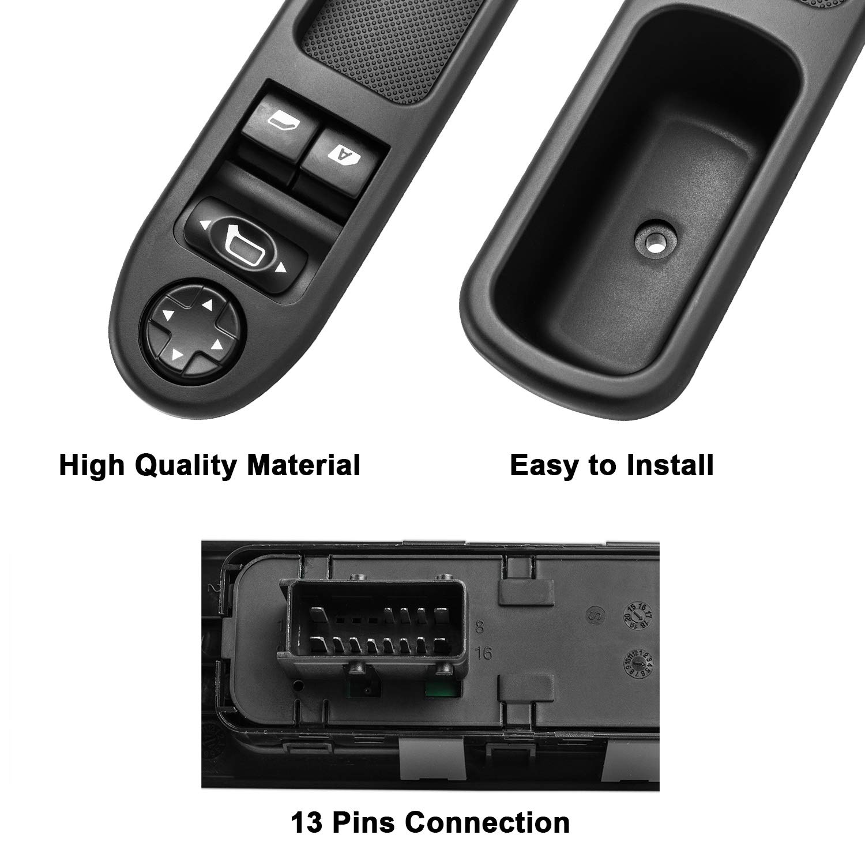 QC YAOPEI Power Master Fenster Schalter Fenster Control Switch 6554