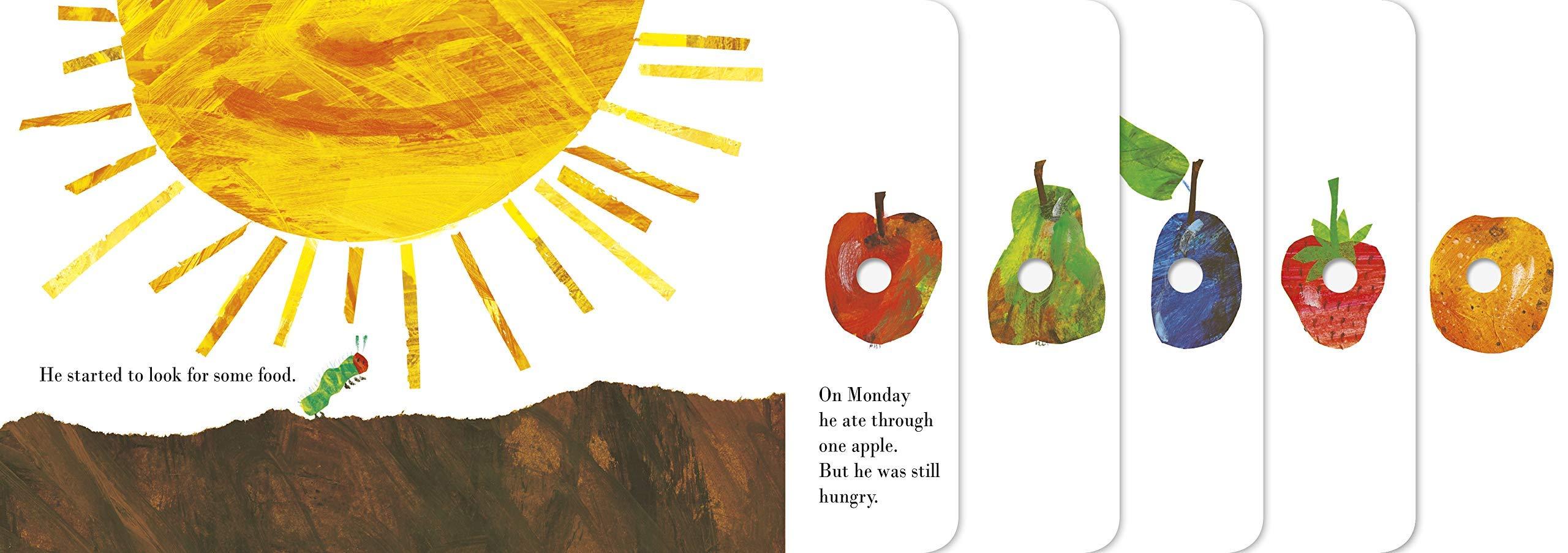 The Very Hungry Caterpillar Englisch  Carle, Eric Amazon.de ...