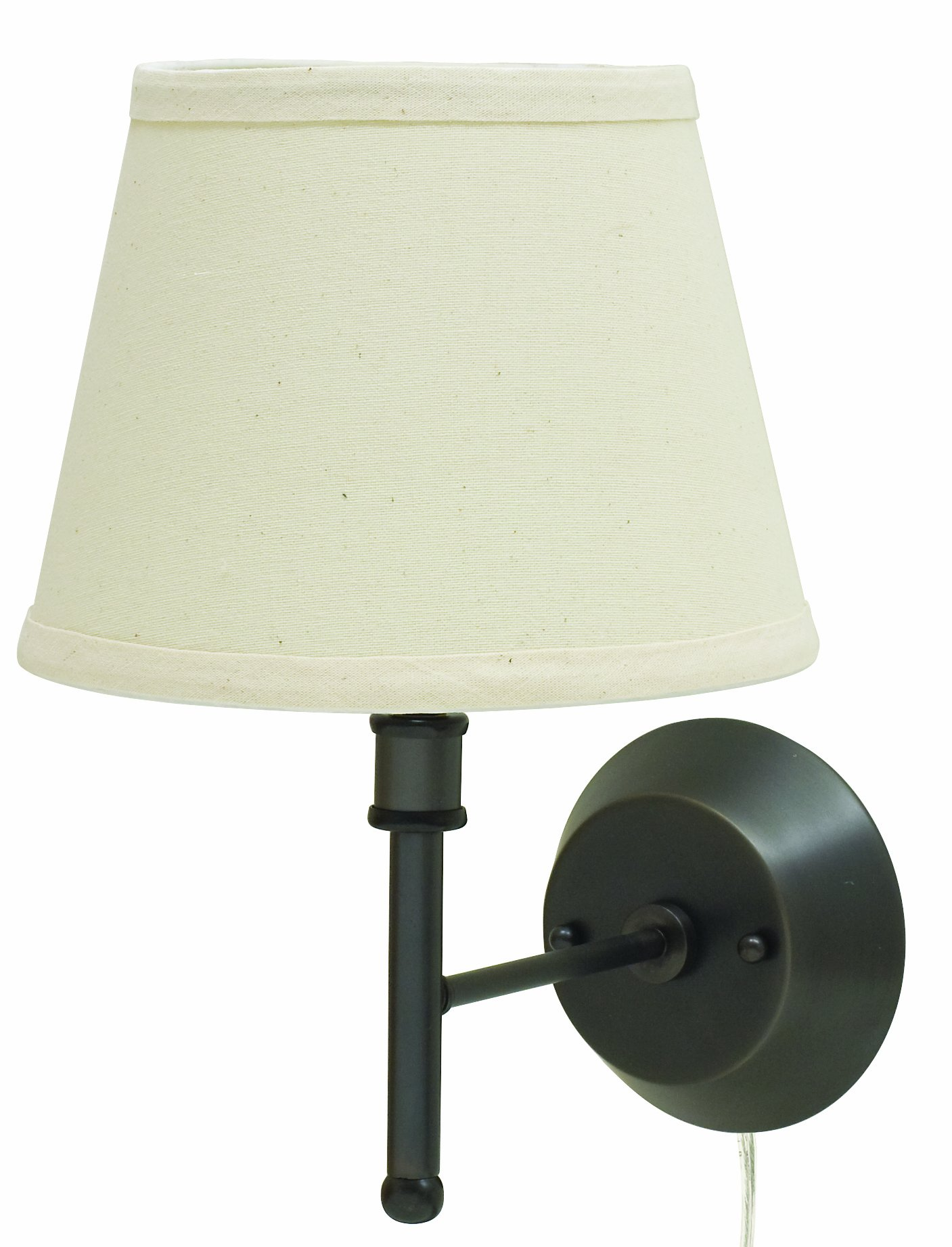 House of Troy GR901-OB Greensboro Collection 13-Inch Portable Wall Lamp, Oil Rubbed Bronze