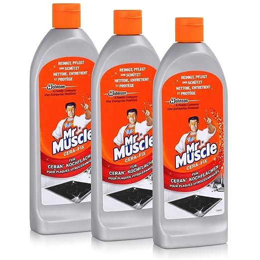 Mr Muscle limpiador de cera de Fix Cristal vitrocerámica de ...