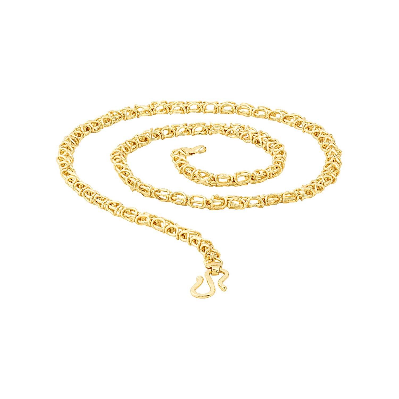 d1bf71d3c0068 Voylla Chain for Men (Golden)(8907617435138)  Amazon.in  Jewellery
