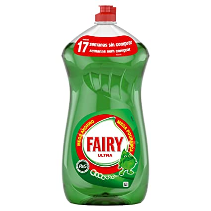 Fairy Original Líquido Lavavajillas a Mano - 1,19 l: Amazon.es ...