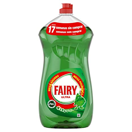 Fairy Original Líquido Lavavajillas a Mano - 1,19 l: Amazon ...