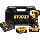 "DEWALT DCF887M2 20V MAX XR Li-Ion 4.0 Ah Brushless 0.25"" 3-Speed Impact Driver Kit"
