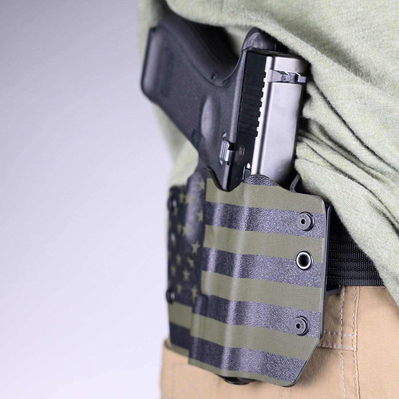 Remington OWB Kydex Holster USA Green /& Black Desert Eagle Canik