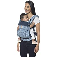 Ergobaby 360 All-Position Baby Carrier with Lumbar Support (12-45 Pounds), Batik Indigo