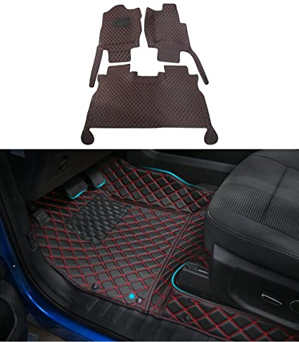 Automobiles & Motorcycles For Ford F150 F-150 2015 2016 2017 Interior Car Accessories Floor Mats Carpets Foot Pads Protector Cover Kit