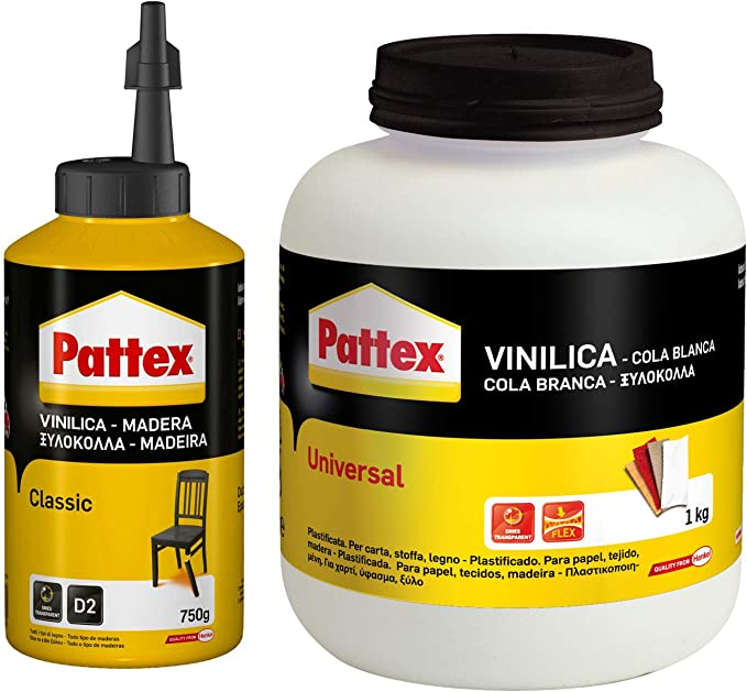 Pattex 1715109 Colla Vinilica Universale, 100 gr