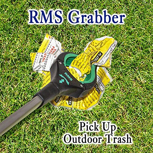 RMS 26'' Grabber Reacher   Rotating Gripper   Mobility Aid Reaching Assist Tool   Trash Picker, Litter Pick Up, Garden Nabber, Arm Extension   Ideal for Wheelchair and Disabled (Green) by RMS Royal Medical Solutions, Inc. (Image #6)