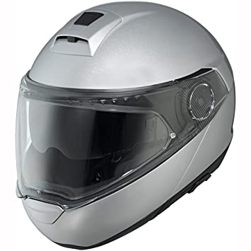 Schuberth 7854 C4 - Casco de moto (talla M), color plateado