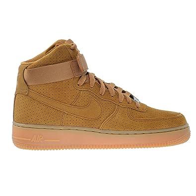 4c4543452f569 Amazon.com   Nike Air Force 1 HI Suede Women's Shoes Tawny/Tawny ...
