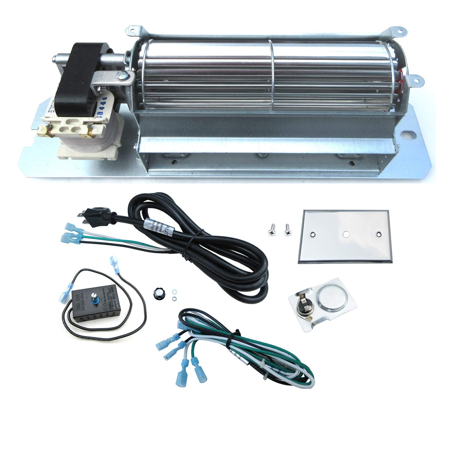 Direct store Parts Kit DN106 Replacement Fireplace Blower Fan Kit GZ550 for Continental Napoleon Rotom by Direct Store