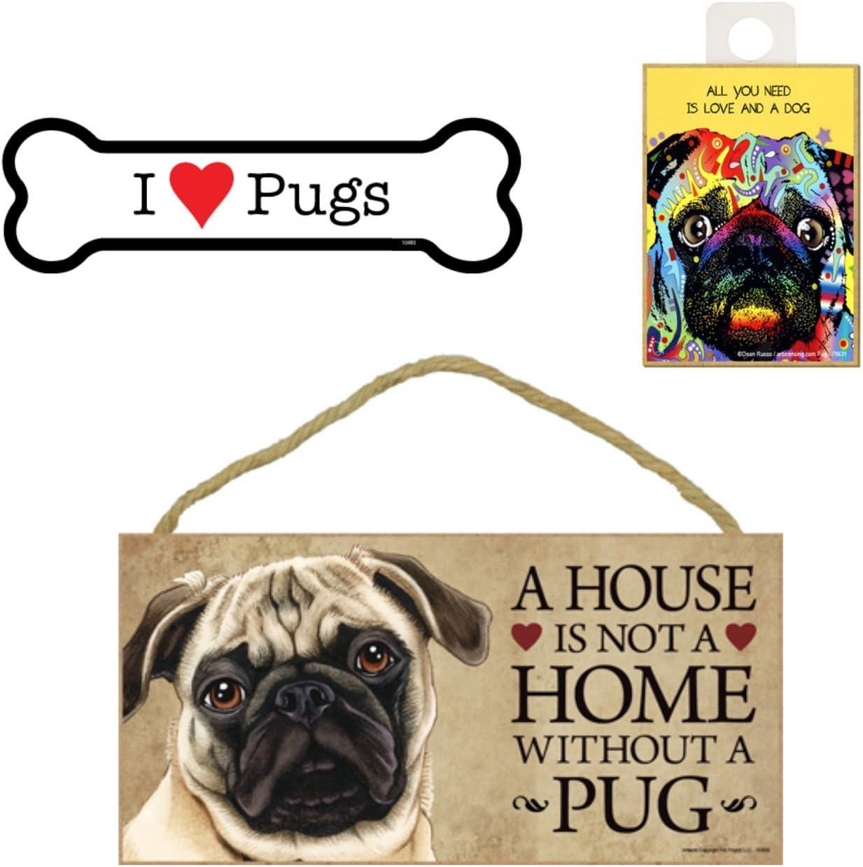 """I Heart My Big Dogs Dog Bone Fridge//Car Magnet 2/""""x7/"""" USA Made FREE SHIP Love"""